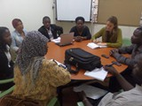 Refuguee Intergrational Meeting 2 at Turget Uganda Offices