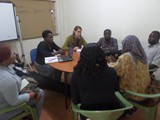 Refuguee Intergrational Meeting at Turget Uganda Offices